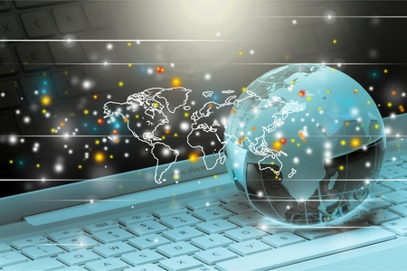 global connection: Global E-commerce.