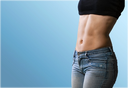 abdominal muscles: Abdominal Muscles. Stock Photo