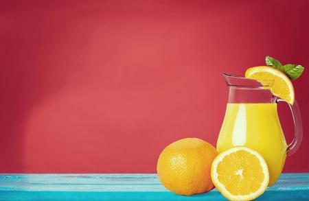 natural juices: Orange Juice.