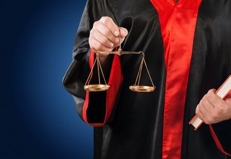 법원 변호사. 스톡 콘텐츠