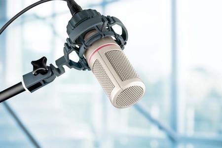 cardioid: Studio microphone.
