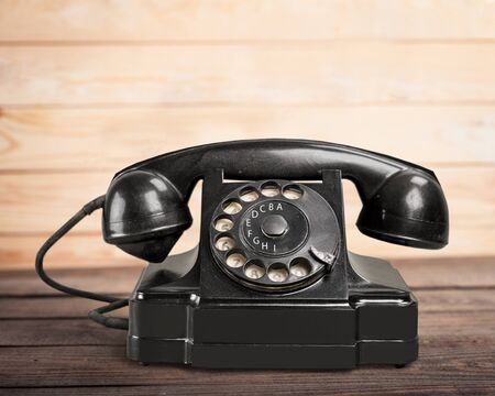 bakelite: Retro Telephone.