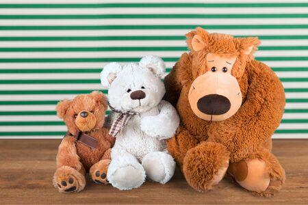 おもちゃの動物。 写真素材