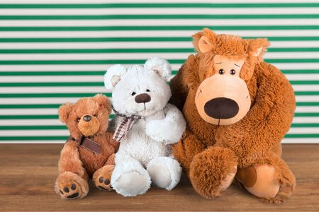 stuffed animals: Toy Animals. Stock Photo