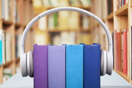 audio: Audio books. Stockfoto