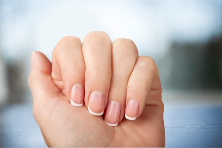 french manicure: Fingernail Manicure.