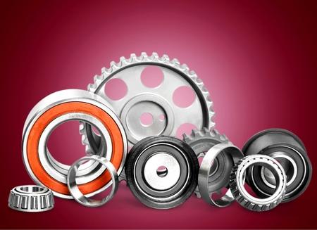 bearing: Metal bearing. Stock Photo