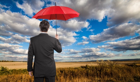 red umbrella: Business Insurance.