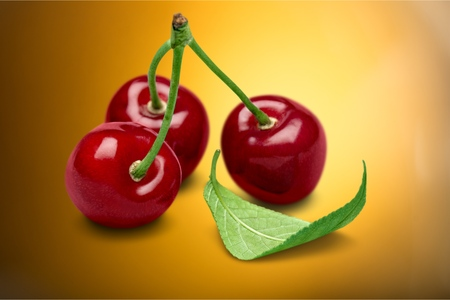 food photography: Red Cherries.