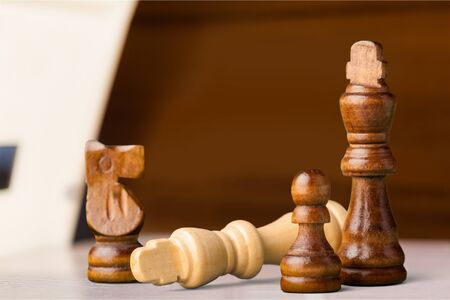 Chess King Defeat.