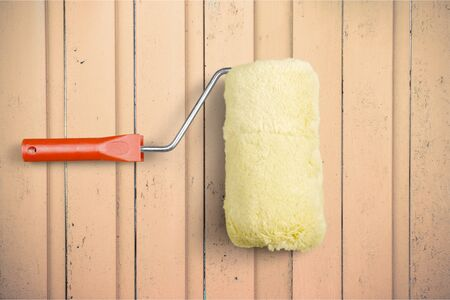 paint roller: Paint Roller. Stock Photo