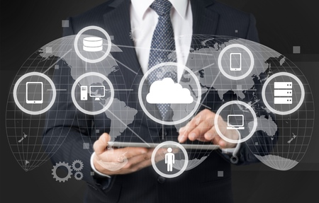 Network cloud.
