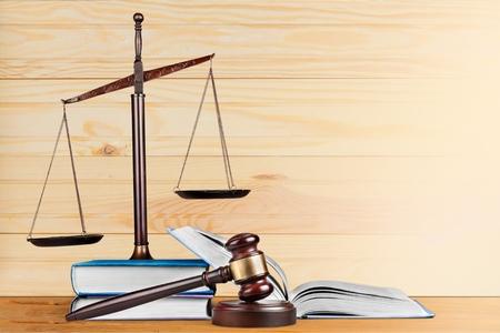 Law books. Stock Photo