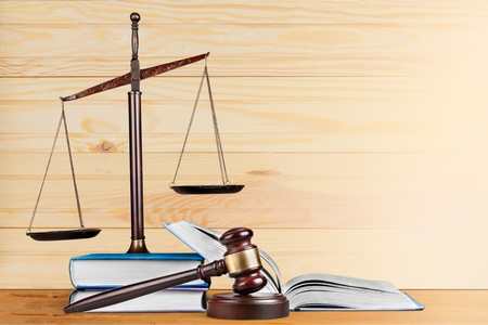 law books: Law books. Stock Photo