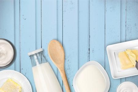 gourmet kitchen: Milk products.