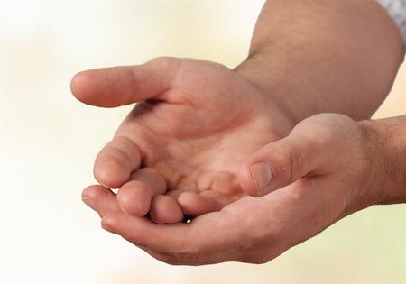 unknown age: Human Handы. Stock Photo