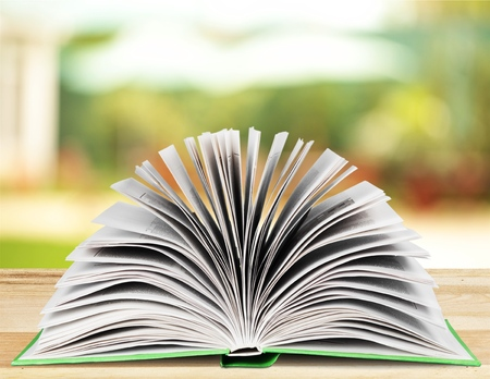 reference book: Book open.