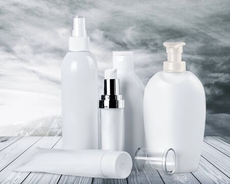 beauty products: Cosmetics.