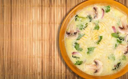 noodles soup: Chicken Soup.