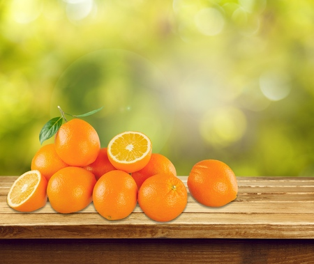 naranjo arbol: Naranjas.