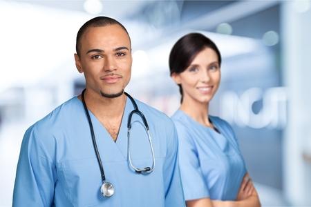 pielęgniarki: Doctor.  Zdjęcie Seryjne