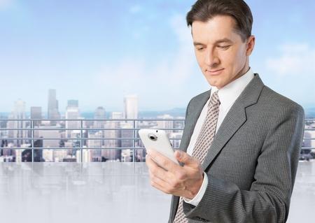 phone professional: Mobile Phone. Stock Photo