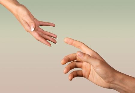 人間の手。 写真素材