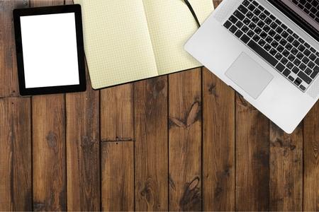 retina display: Laptop. Stock Photo