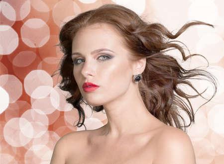 fashion model: Fashion Model Stock Photo
