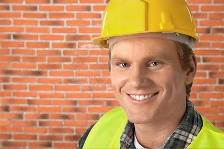 manual: Manual Worker. Stock Photo