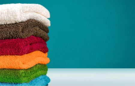 towel: Towels. Stock Photo