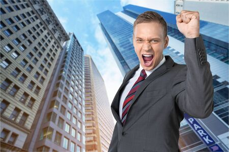 success man: Success man happy