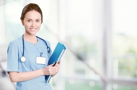 nurse uniform: Nurse.