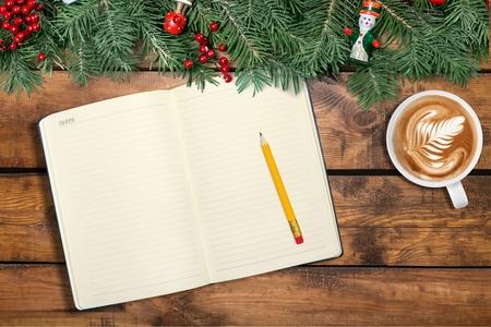 diaries: Christmas concept  Stock Photo