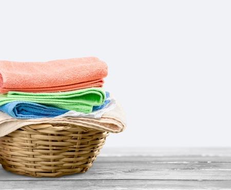 basket: Basket. Stock Photo