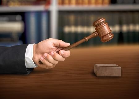 subpoena: Judge Gavel.