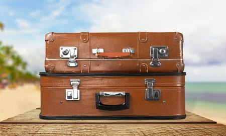 cases: Travel cases. Stock Photo