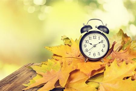 Tiempo: Horario de verano. Foto de archivo