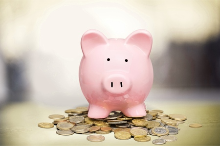 saving: Piggy Bank.
