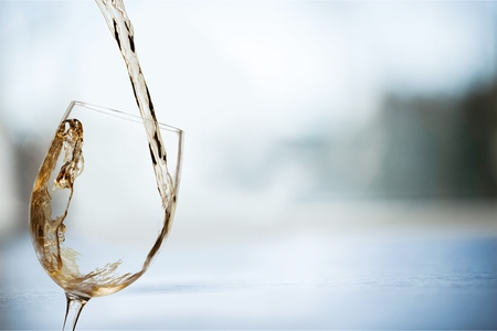 白ワイン。