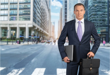 new business problems: Businessman. Stock Photo