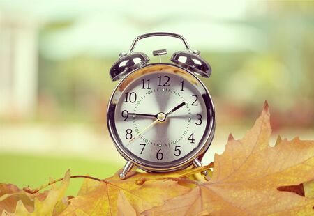 time: Daylight Savings Time. Stock Photo
