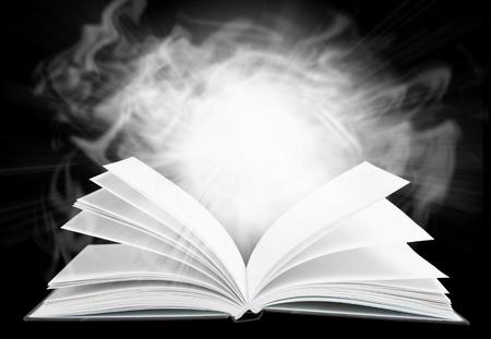 book open: Book mystery.
