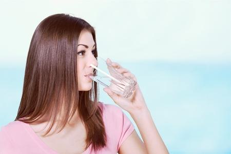 acqua bicchiere: Acqua potabile.
