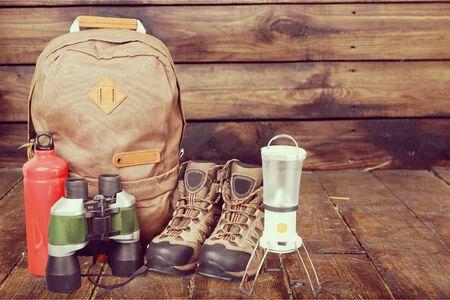 the equipment: Hiking Equipment.