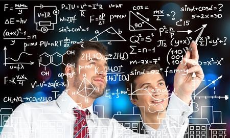 Recherche scientifique. Banque d'images - 46060447
