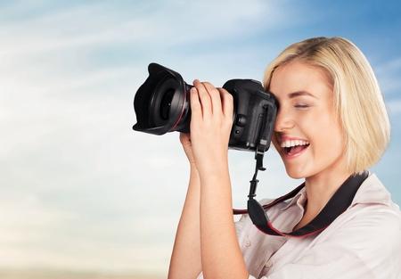 video camera: Photographer.