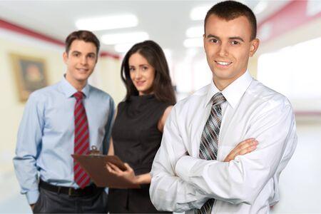 Businessman. 版權商用圖片