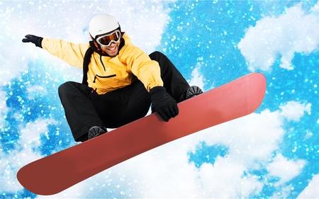 Snowboarding. Imagens