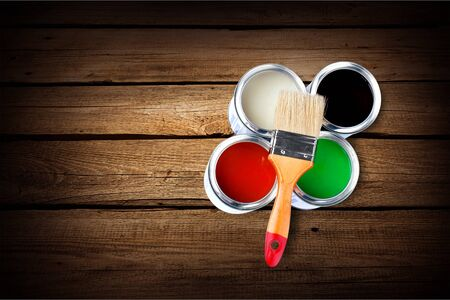 painting and decorating: Paints.